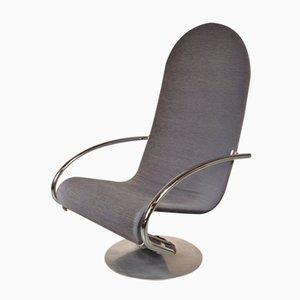 Danish Swivel Easy Chair by Verner Panton for Fritz Hansen, 1960s