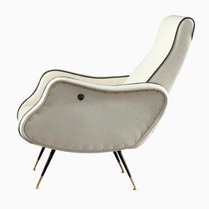 Italian Adjustable Lady Chair, 1950