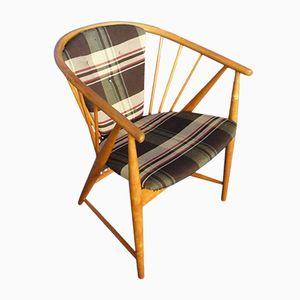 Sun Feather Stuhl von Sonna Rosen für Nassjo Stolfabrik Sweden, 1948