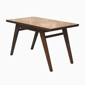 Teak Dining Table by Pierre Jeanneret, 1960