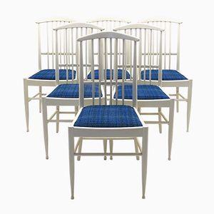 Vintage Charlotte Esszimmerstühle von Kerstin Hörlin-Holmquist für Asko, 6er Set