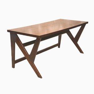 Table de Conférence en Teck par Pierre Jeanneret, 1963