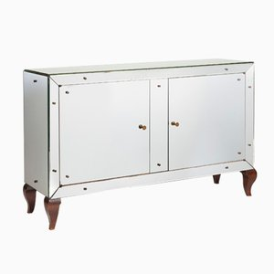French Mirrored Commode, 1930s