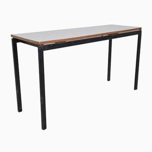 Cansado Werktisch aus Metall, Holz und Formica von Charlotte Perriand, 1958