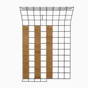 Vintage Metal Mesh Coat Rack