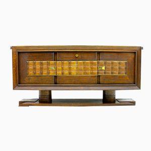 Brutalistisches Französisches Vintage Sideboard von Charles Dudouyt