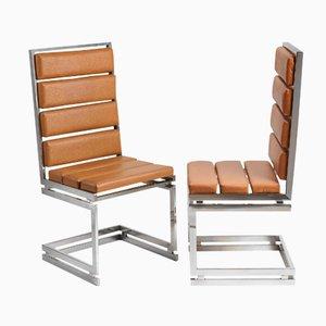 Italienische Esszimmerstühle von Romeo Rega, 1970er, 6er Set