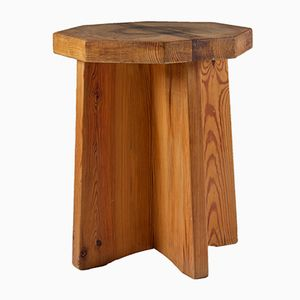 Swedish Pinewood Side Table