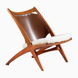 Krysset Lounge Chair by Fredrik Kayser and Adolf Relling for Gustav Bahus, 1955
