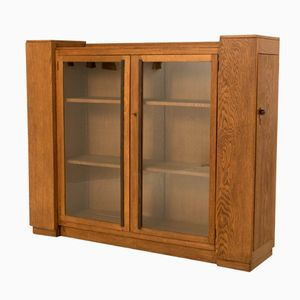 Art Deco Hague School Bookcase with Four Doors, 1920s