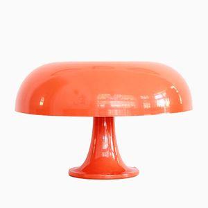 lampe de bureau nesso orange par giancarlo mattioli pour artemide en vente sur pamono. Black Bedroom Furniture Sets. Home Design Ideas
