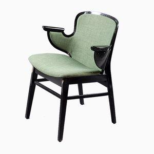 Dänischer Modell 107 Shell Stuhl von Hans Olsen für Bramin, 1950er