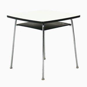 Tubular Steel Side Table, 1950s