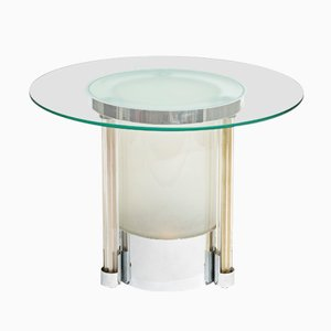 Vintage Illuimted Art Deco Side Table