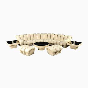 Verstellbares DS600 Snake Non-Stop Sofa Set von Peduzzi Riva, Berger & Ulrich für De Sede, 1970er