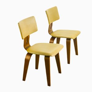 SB02 Chairs by Cees Braakman for Pastoe, 1955, Set of 2