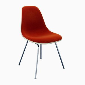 American DSX Chair with Rallye Cover by Charles & Ray Eames for Herman Miller, 1960s