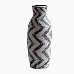 Deep Zig Zag Vase