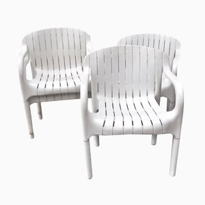 Vintage Dangari Stühle von Pierre Paulin für Allibert, 6er Set