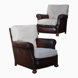 gro er englischer landhaus ohrensessel bei pamono kaufen. Black Bedroom Furniture Sets. Home Design Ideas