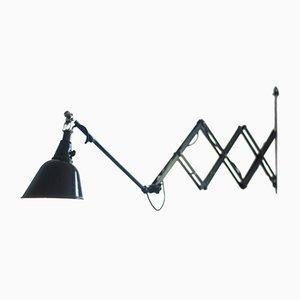 Lampada grande a forbice 112 di Curt Fischer per Midgard, Germania