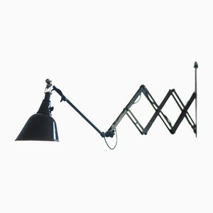 Large German 112 Scissor Lamp by Curt Fischer for Midgard