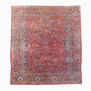 Antiker Großer Iranischer Teppich, 1920er