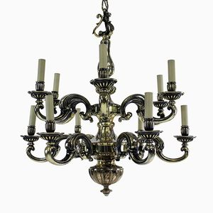Antique Charles II Silver Chandelier