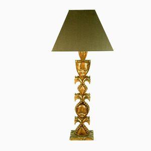 Kongolesische Skulpturale Lampe, 1960er
