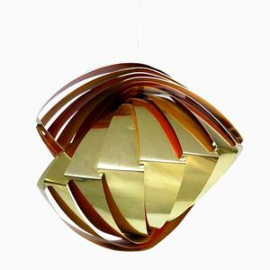Konkylie Pendant Lamp by Louis Weisdorf for Lyfa, 1950s