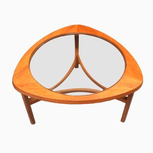English Teak & Glass Coffee Table from Nathan, 1960s