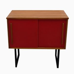 Small Swiss Sideboard with Sliding Doors, 1960s