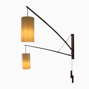 vintage four arm table lamp with spherical shades for sale at pamono. Black Bedroom Furniture Sets. Home Design Ideas