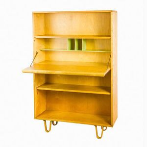 BB04 Secretaire Cabinet by Cees Braakman for Pastoe
