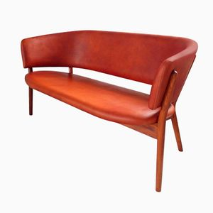 Mid-Century ND82 Shell Sofa by Nanna Ditzel for Snedkergaarden