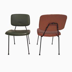 CM196 Stühle von Pierre Paulin für Thonet, 1950er, 2er Set