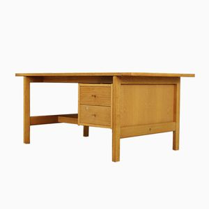 Danish Oak Desk by Hans J. Wegner, 1980s