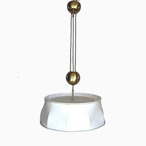 Österreichische Kugelzug Lampe von J. T. Kalmar, 1960er