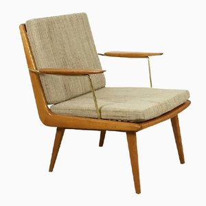 Beautiful midcentury german easy chair by hans mitzlaff for Chaise schmidt
