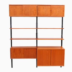 Mid-Century Royal Teak Wall Unit by Poul Cadovius for Cado