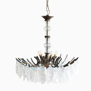 Antique Multi-Arm Chandelier