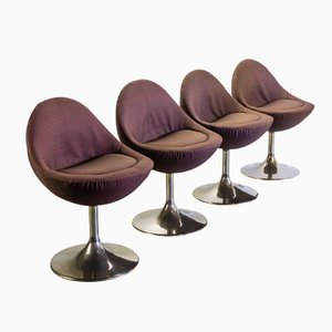Venus Chairs by Börje Johanson for Johanson Design, 1960s, Set of 4