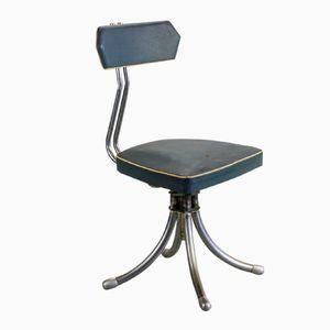 Chaise de Bureau Design Industriel, France, 1950s