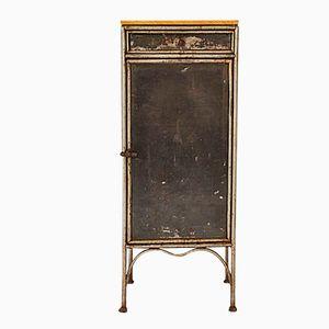 Iron & Oak Cabinet, 1920s