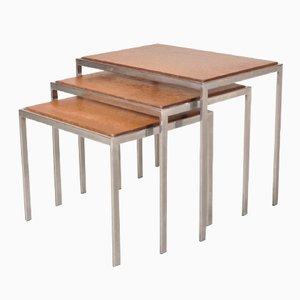 Tables Gigognes avec Dessus Réversibles, 1960s