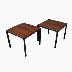 Rosewood Lamp Tables from Silkeborg, 1960s, Set of 2