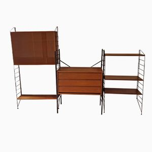 Swedish Mid-Century Furniture System by Nisse Strinning for String, 1956