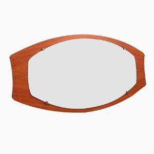 Italian Mid-Century Oval Mirror