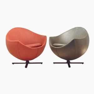Mars Swivel Chairs by Pierre Guariche for Meurop, 1950s, Set of 2