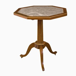 Directoire Mahogany Octagonal Tilt-Top Table, 1800s